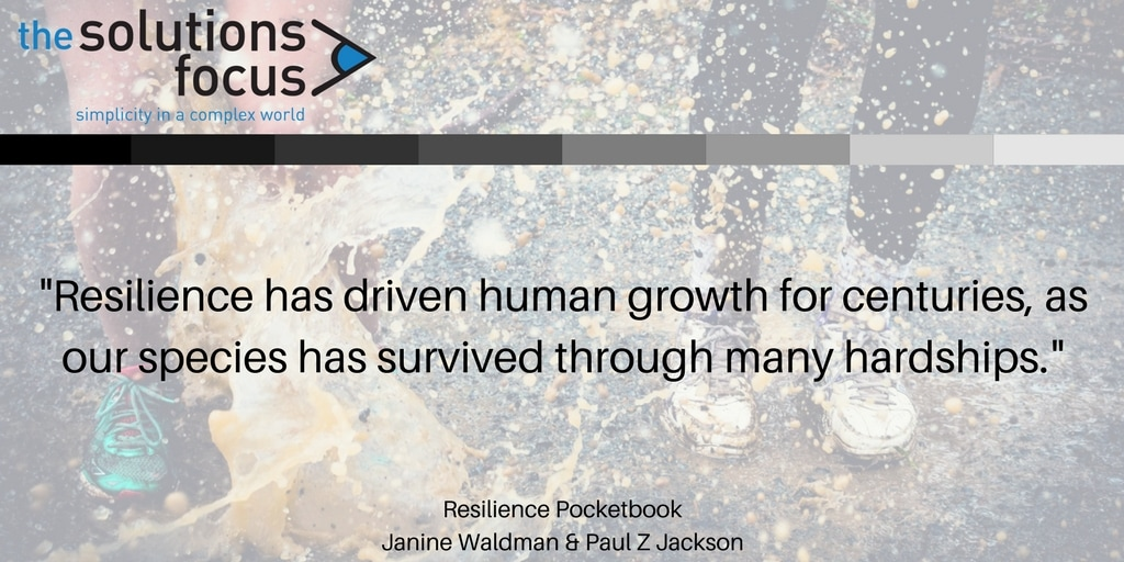 The Solutions Focus Resilience Management Pocketbook